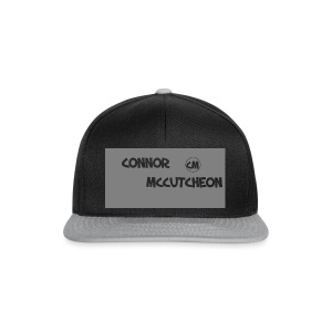 Connor McCutcheon Logo - Snapback Cap