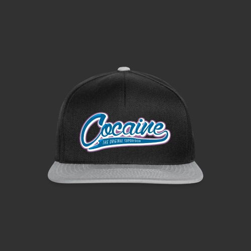 Cocaine - The Original Superfood - Snapback Cap
