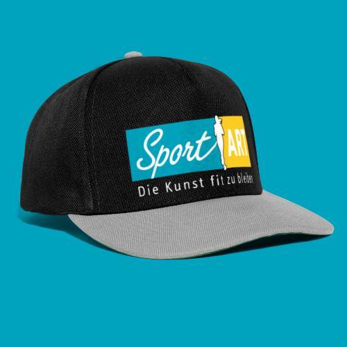 Logo drei Farben - Snapback Cap
