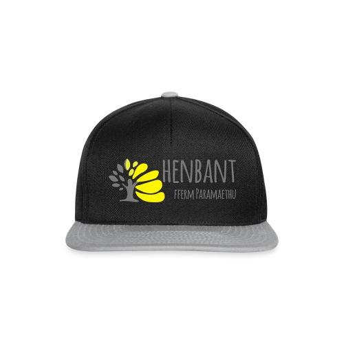 henbant logo - Snapback Cap