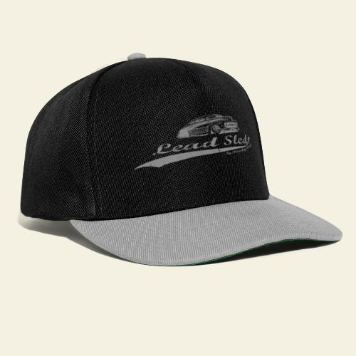 lead sled grey - Snapback Cap