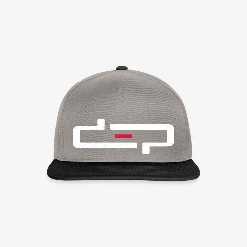 deplogo1neg red - Snapback-caps