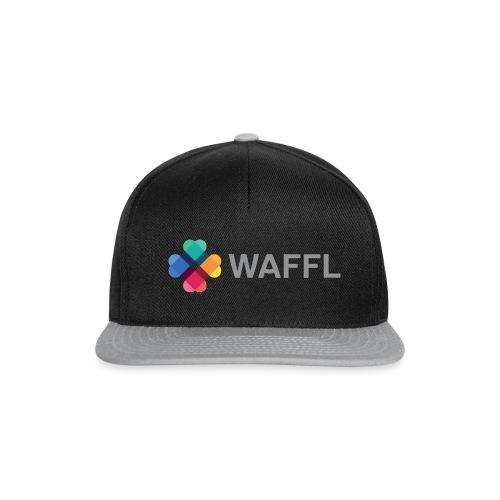 WAFFL_IMAGE_LOGO_NO_BG (3 - Snapback Cap