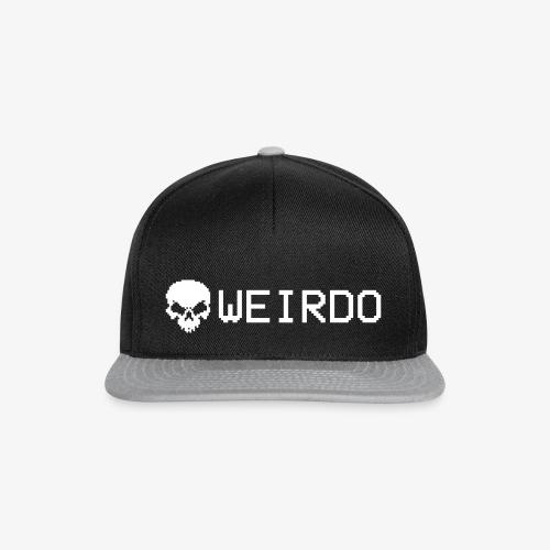 Cap Weirdo weiß - Snapback Cap