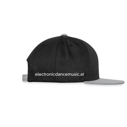 electronicdancemusic.at weiß doppelt - Snapback Cap
