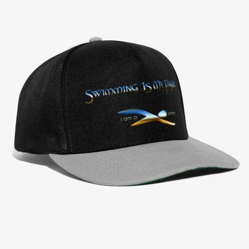 I Am A Swimmer - Snapback Cap
