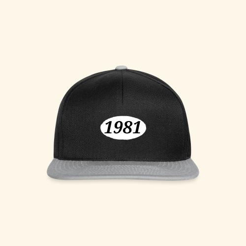 1981 - Snapback Cap