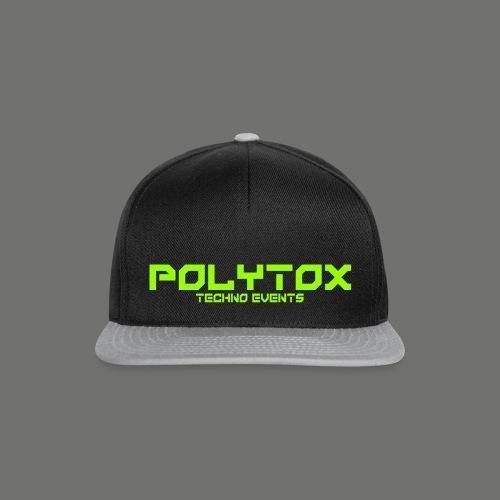 POLYTOX Techno Events Merch - Snapback Cap