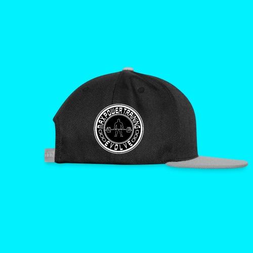 maxpowertraining_white - Snapback Cap