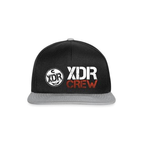 XDR CREW WHITE LOGO - Snapback Cap