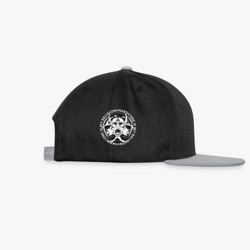 HARD CORE IS MY RELIGION - Casquette snapback