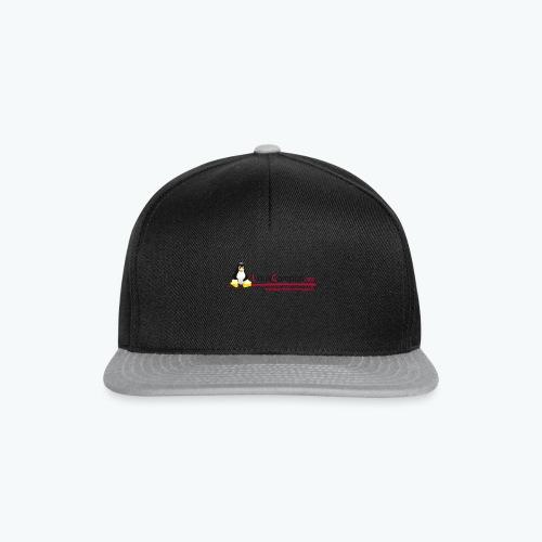 Logo linuxcampus ohneblas - Snapback Cap