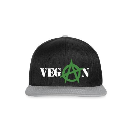 vegan anarchy - Snapback Cap