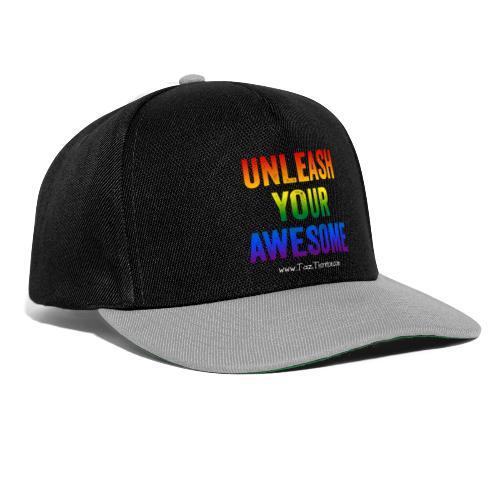 Rainbow Awesome - Pride range - Snapback Cap