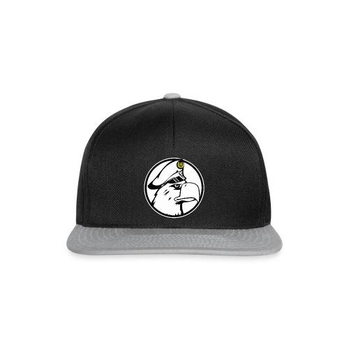 Adler Rund Weis - Snapback Cap