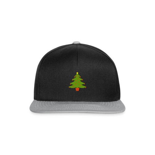 Christmas Tree - Snapback Cap