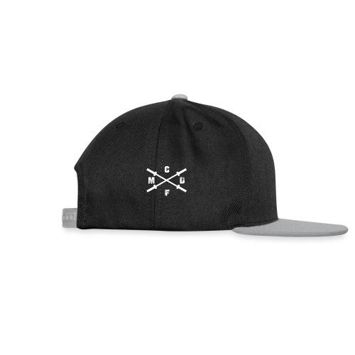 CFMD Crossed Barbells hell rechts - Snapback Cap