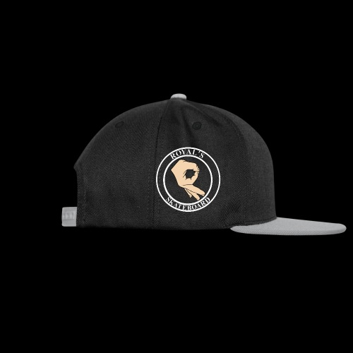 ROYAL S HAND WHITE - Casquette snapback