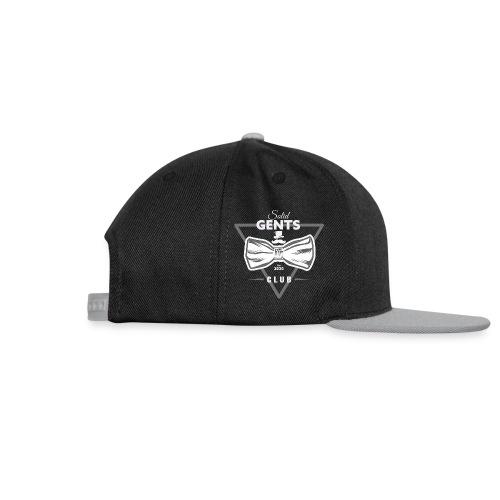 Solid Gents Club - Snapback Cap