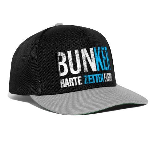 Bunker & Harte Zeiten Supporter - Snapback Cap