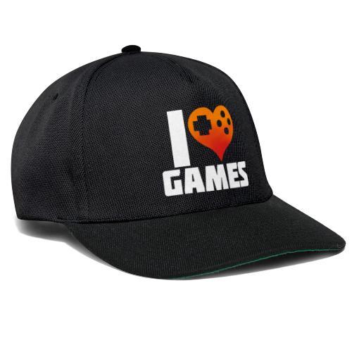 I <3 Games - Snapback Cap