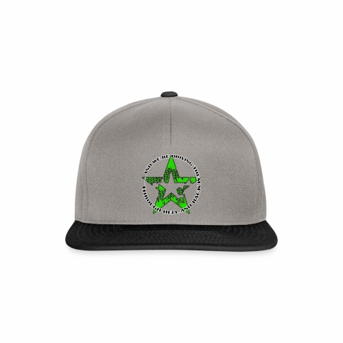 ra star slogan slime png - Snapback Cap