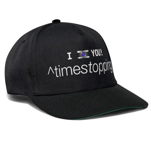 I (photo) you! - Snapback Cap