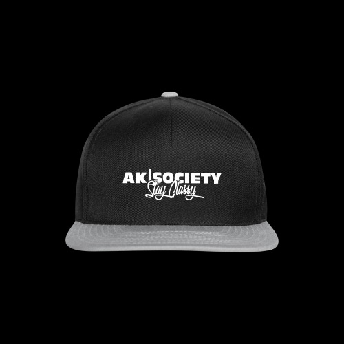 stay classy white png - Snapback Cap