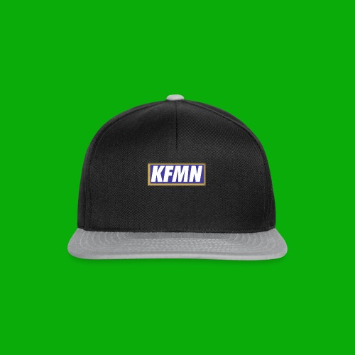 -KFMN- Gold Blau washed out - Snapback Cap