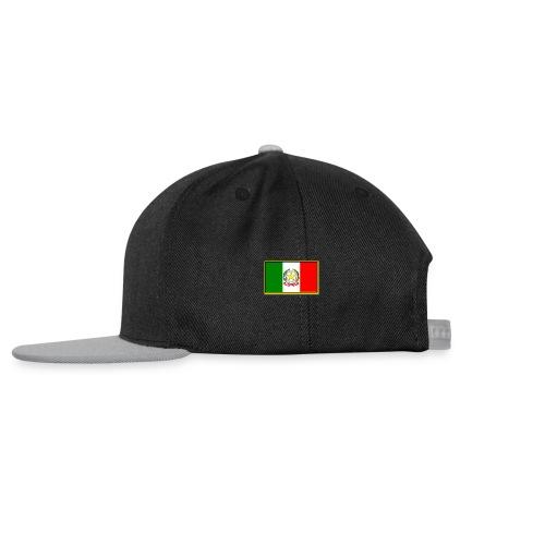 Bandiera Italiana - Snapback Cap