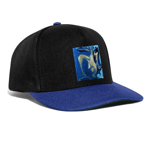 TIAN GREEN Welt Mosaik - AT042 Blue Passion - Snapback Cap