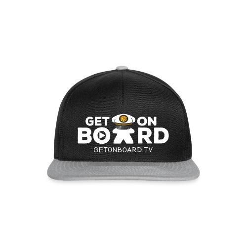 """Get on Board"" Schriftzug - Snapback Cap"
