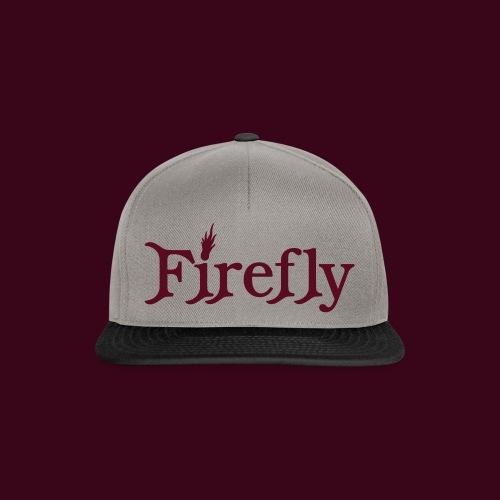 Firefly Schriftzug - Snapback Cap