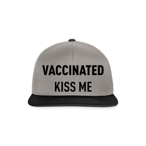 Vaccinated Kiss me - Snapback Cap