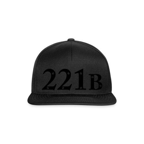Sherlock Holmes - 221B - Snapback Cap