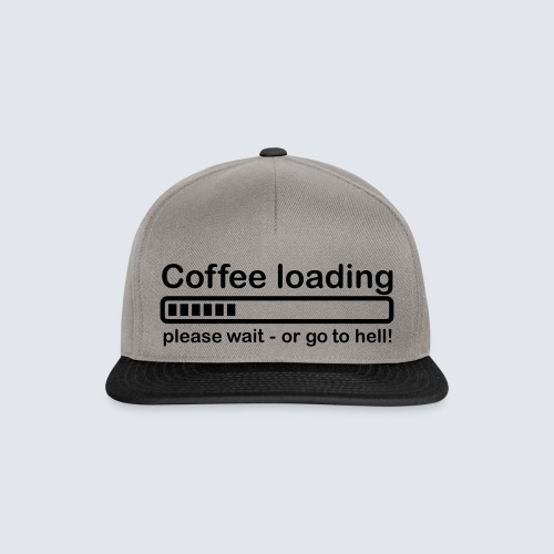 Coffee loading - Snapback Cap