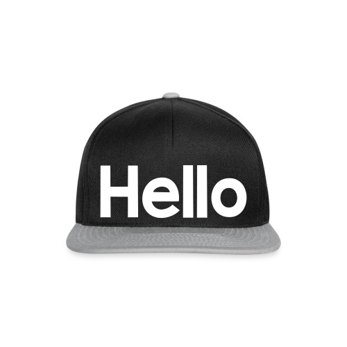 Hello#2 - Snapback Cap