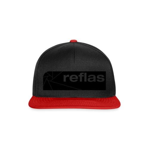 Reflas Clothing Black/Gray - Snapback Cap
