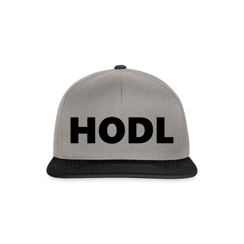 Behold of the HODL trouser! - Snapback Cap