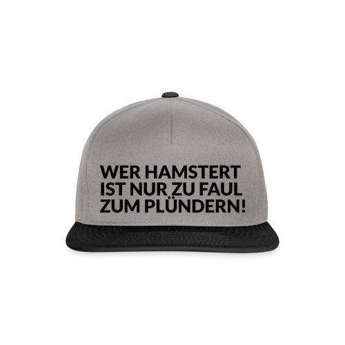 HAMSTERN & PLÜNDERN - Snapback Cap