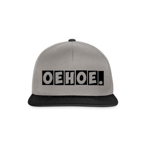 Oehoe_1_kleur - Snapback cap
