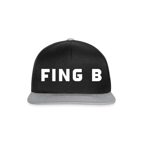 FING B Black Logo - Snapbackkeps