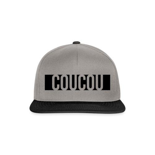 Coucou [1] Black - Casquette snapback