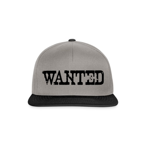 Wanted proclamation annunciation Verbrecher Suche - Snapback Cap