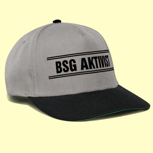BSG Aktivist Schriftzug - Snapback Cap