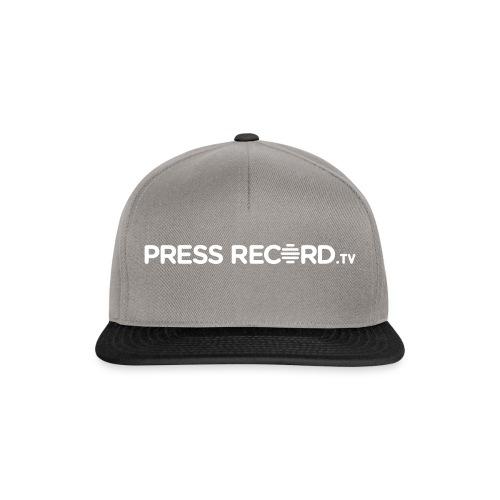 PressRecordTV Hoodie - Snapback Cap