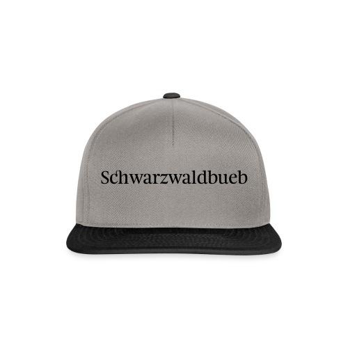 Schwarwaldbueb - T-Shirt - Snapback Cap