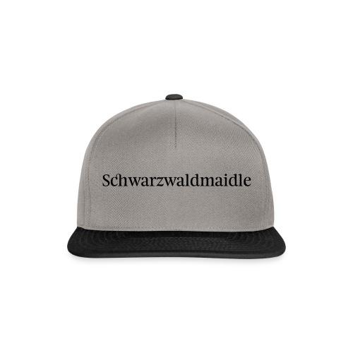 Schwarzwaldmaidle - T-Shirt - Snapback Cap