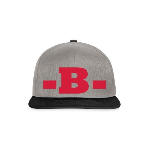 -B- - Snapback Cap