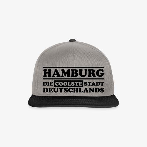 Hamburg Die coolste Stadt Deutschlands B 1c - Snapback Cap